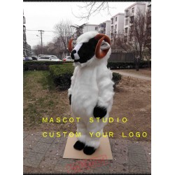 Plush Sheep Mascot Costume Goat