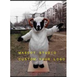 Plush Sheep Mascot Costume Goat