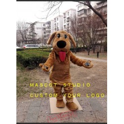 Brown Dog Mascot Costume