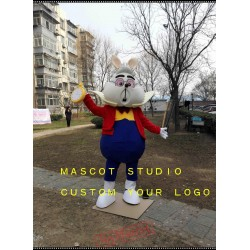 Alice Rabbit Mascot Costume