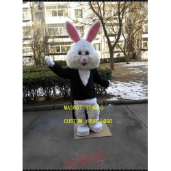 Coat Rabbit Mascot Costume Bunny