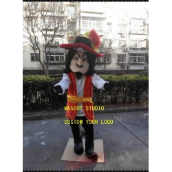 Captain Hook Pirate Mascot Costume