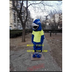 Blue Falcon Mascot Hawk Eagle Mascot Costume
