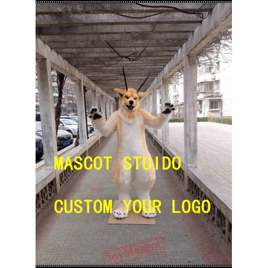 Wolf Fursuit Husky Fursuit Fox Mascot Costume