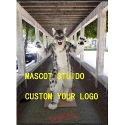 Snow Leopard Fursuit Tiger Fursuit Mascot Costume