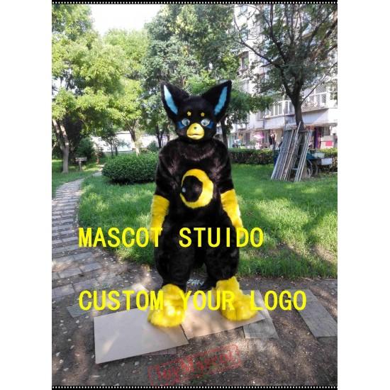 Chibi Dog Fursuit Fox Fursuit Mascot Costume
