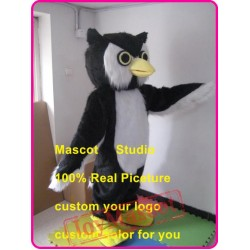 Plush Owl Hoot Mascot Costume