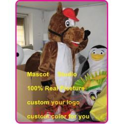 Cute Horse Mascot Costume