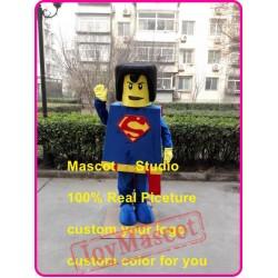 Superman Mascot Costume Hero