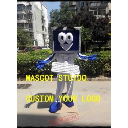 Computer Character Mascot Costume